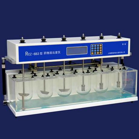 上海黄海药检RCZ-6B3药物溶出度仪(手动翻转)停产